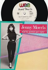 Jenny Morris ORIG OZ PS 45 You're gonna get hurt NM '86 WEA QED Inxs Pop Rock