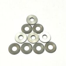 """Pack of 10 ALUMINUM CONICAL WASHER 1/"""" OD x 1//4/"""" ID"""