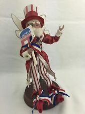 """Rare Mark Roberts """"Vote Republican� Fairy 956/10000 Figurine Coa 10�H"""