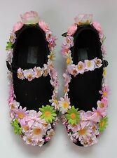 FLOWER FAIRY Festival Rosa Scarpe Ballerine Gothic Lolita Kawaii COLORI PASTELLO Goth 39 6