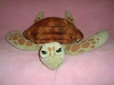 "Disney Store Finding Dory Crush Turtle Large Plush 19"" Long"