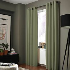 2 ADAM Greek Insulated Thermal Sunlight Blocking Blackout Window Curtain Panels
