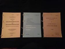9mm STERLING SMG L2A3 & L34A1 PAMPHLET, HANDBOOK & PARTS LIST. FALKLANDS, ULSTER