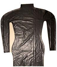 Latex Kleid Schwarz Gr. XL, Ungetragen
