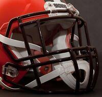 CLEVELAND BROWNS Riddell Speed S2EG-II-SP Football Helmet Facemask (BROWN)