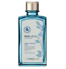 [The Face Shop] Herb & Relief Homme Sebum Control Skin  150ml