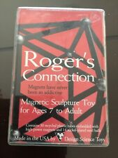 Rodgers connection magnetic sculpture toy design science toys vintage Rare!