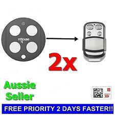 2x Mhouse/MyHouse Door Gate Remote Control Compatible TX4 TX3 GTX4 GTX4C