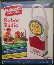 Playskool Electronics Vinatge Robot Radio From 1992 With Box & Paperwork