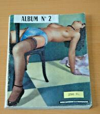 ALBUM N°2  RARE MAGAZINE SEXY PIN-UP NUDES AKT 1960 NUS