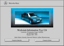 WIS Reparaturanleitung für Mercedes Benz W124 alle Modelle sofort als Download