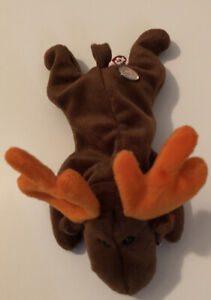 TY Beanie Baby CHOCOLATE The Moose Original 9 Official Club Plush NWT Retired