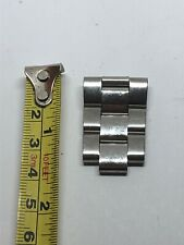 INVICTA Stainless steel Partial band Links Silver Tone 20/22mm Lug 9mmLa53