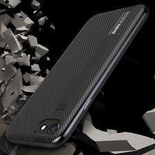 Cover Carbonio Antiurto + Vetro Temperato 5D Apple iPhone 8 Case Military Bundle