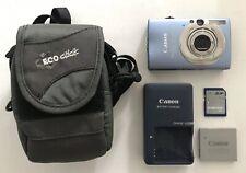 Canon Powershot PC1271 SD1100 Digital Camera 8MP Bundle w/ Case & 1GB SD card