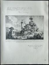 1926 - Lithographie citation de René Viviani, Ribot (Guerre 14 18)