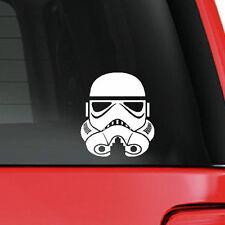 Star Wars Episode 4-6 Stormtrooper  WHITE cut vinyl sticker decal