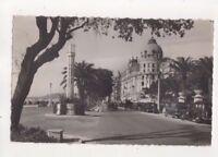 Nice Promenade Des Anglais Hotel Negresco France Vintage RPPC Postcard US071