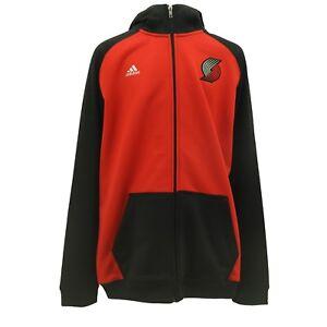 Portland Trail Blazers Kids Youth Size Official NBA Adidas Zip Up Sweatshirt New