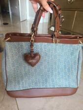 Gucci denim GG tote bag handbag