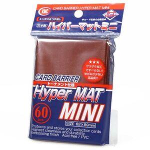 KMC Hyper Matte Mini (Yu-Gi-Oh!) Red Mini Card Sleeves (60 pcs) KMCMHM1607