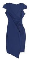 Boohoo Womens Size 10 Blue Dress (Regular)