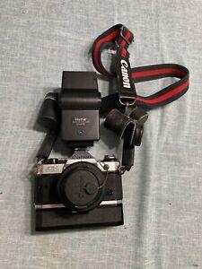 Vintage Canon AE-1 Program 50mm 1.8 Camera