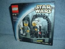 FINAL DUEL II Lego STAR WARS 7201 MISB Luke Jedi Stormtrooper 2002 Mini Fig New