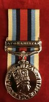 """FULL SIZE OSM AFGHANISTAN with CLASP BRAND NEW - OP HERRICK-  WITH 10"""" OF RIBBON"""