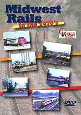 Midwest Rails in the 1970's DVD NEW CVision Twin Ports C&NW Rock Island BN GB&W
