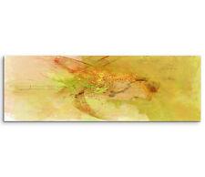 Leinwandbild Panorama orange braun grün beige Paul Sinus Abstrakt_768_150x50cm