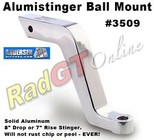 "Andersen Hitch 8"" Drop or 7"" Rise Alumistinger Ball Mount #3509"