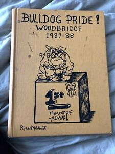 1988 Woodbridge  Middle School LODI  CALIFORNIA Yearbook