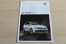 96172) VW Golf VI adidas GTi - Preise & tech. Daten & Ausstattungen - Prospekt 0