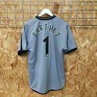 Manchester United Umbro Goalkeeper Shirt 2001/2002 - BARTHEZ 1 - M MEDIUM - Kit