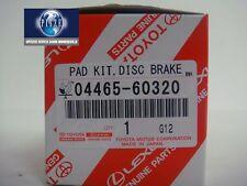 TOYOTA OEM Brake-Front Pads 2010-17 TOYOTA 4RUNNER, SR5,LIMITED TRAIL 0446560320