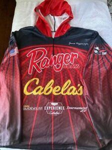 RANGER BOATS James Niggemeyer BASS PRO ANGLER Cabelas Guidewear HOODIE JERSEY XL