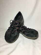 Chaco Outcross Water Shoes Sandals Hiking Trail Fishing Gray Junior Kids Size 6