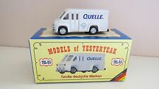 MATCHBOX YESTERYEAR YGL-05 DODGE ROUTE VAN QUELLE CODE 2 MINT V RARE