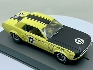 Pioneer Slot Cars P009 67 Ford Mustang Notchback SCCA Trans-Am #17 Jerry Titus
