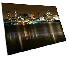 Liverpool Skyline Wall type Large a1 Poster 33 x 23 pouces