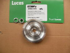 TRIUMPH PRE-UNIT LUCAS K2F, BTH, MAGNETO ALLOY DRIVE WHEEL AND NUT  70-3411