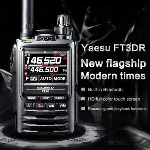 YAESU FT3DR Walkie Talkie Touch Screen Bluetooth GPS Recording HAM Walkie Talkie