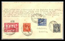 GP GOLDPATH: ST LUCIA COVER 1938 REGISTERED LETTER _CV488_P07
