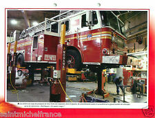 Workshop Trucks Red Square Queens New-York FBNY Sapeur Pompier FICHE FIREFIGHTER