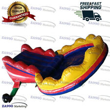16x8.2ft Commercial Inflatable Balls Pool & Slide With Air Blower