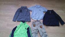 EUC Lot of 5 size 5 Boys Adidas Kenneth Cole Disney Blazer shirt pants lot