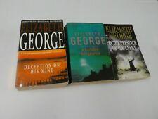 Elizabeth George Lot of 3 Books (Paperback) GF2