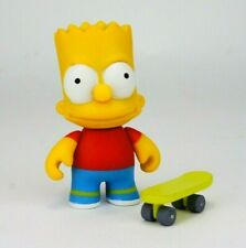 "Kidrobot The Simpsons Series 1 Bart 3"" Vinyl Figure Art Toy w/ Skateboard"