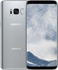 New listing New Silver Verizon Gsm Unlocked Samsung S8 G950U 64Gb /Please Read! Jg88 B